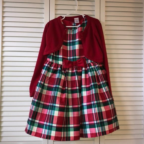 NWT Gymboree Holiday Dress Wool Coat 2T-3T 4T-5T Black Party Plaid Sparkle Girl